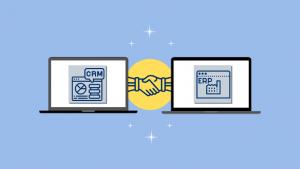 relación y diferencias entre ERP y CRM