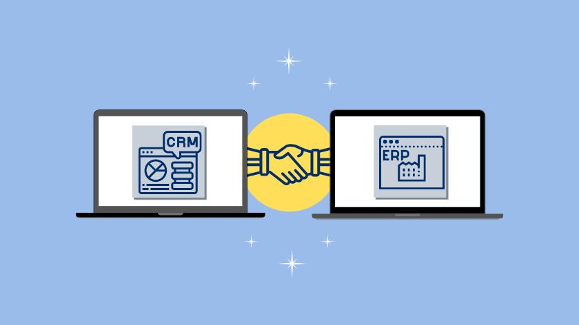 ¿Qué es ERP y CRM?