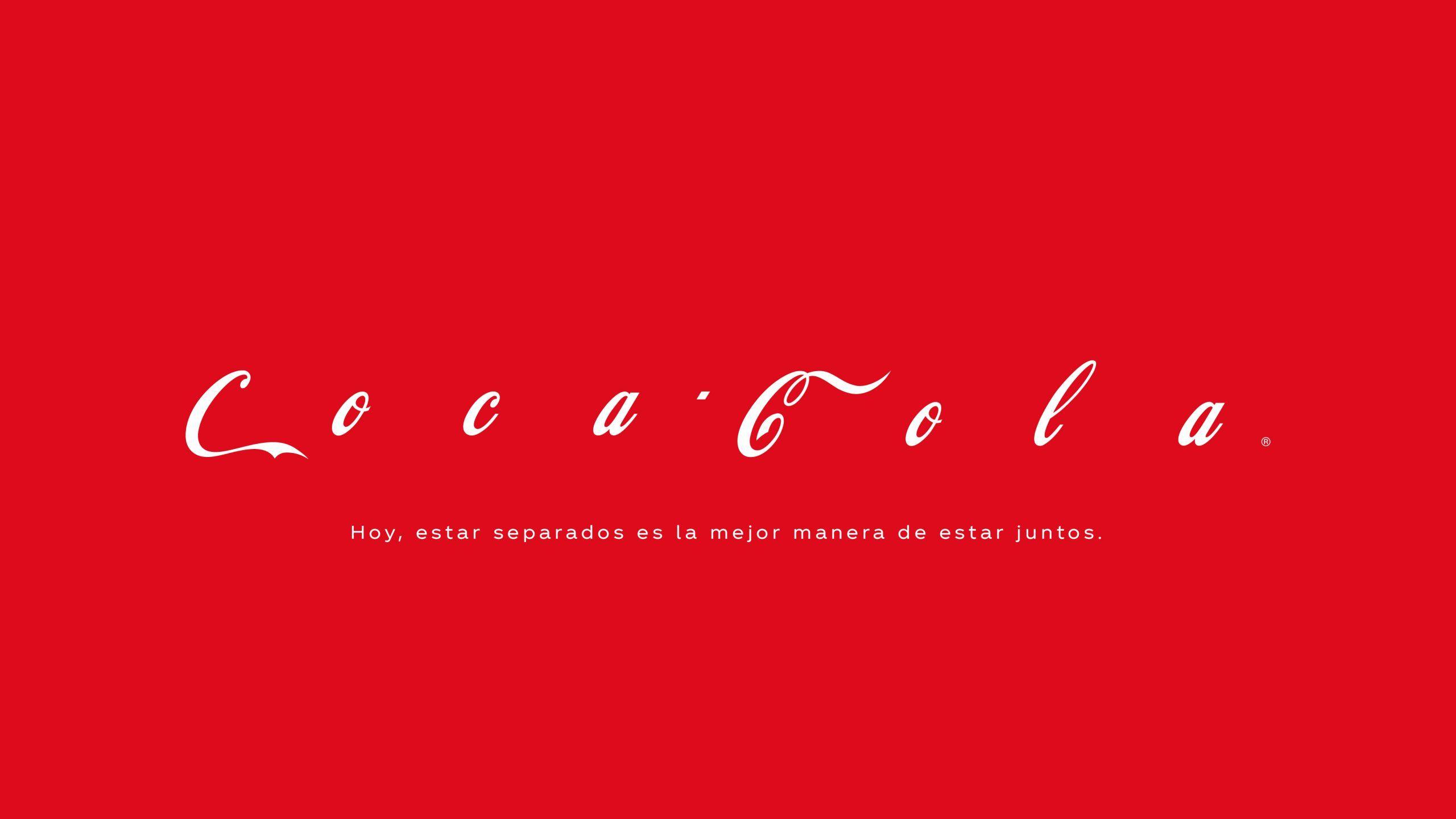coca cola logo pandemia
