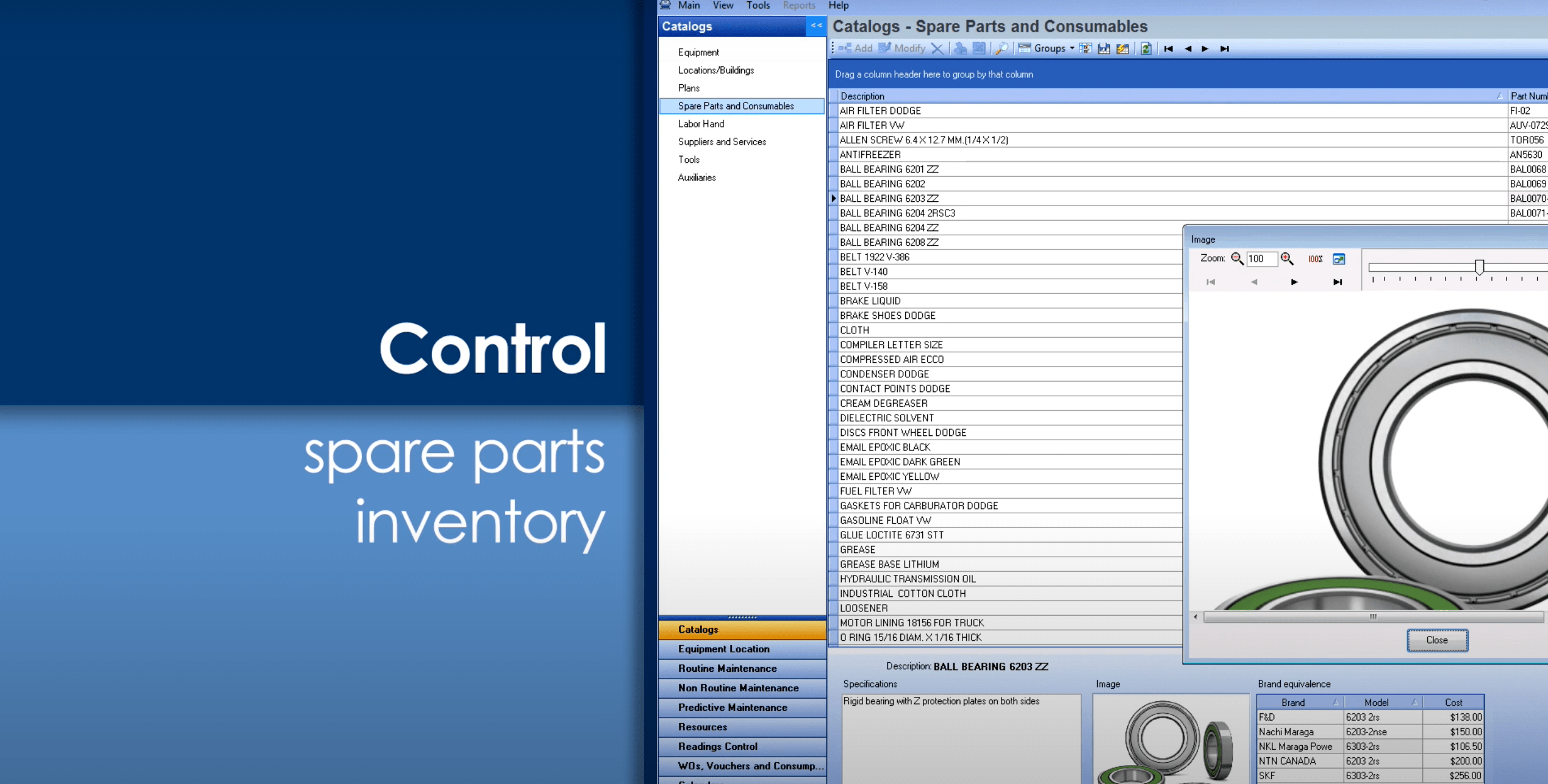 software mp software para mantenimiento