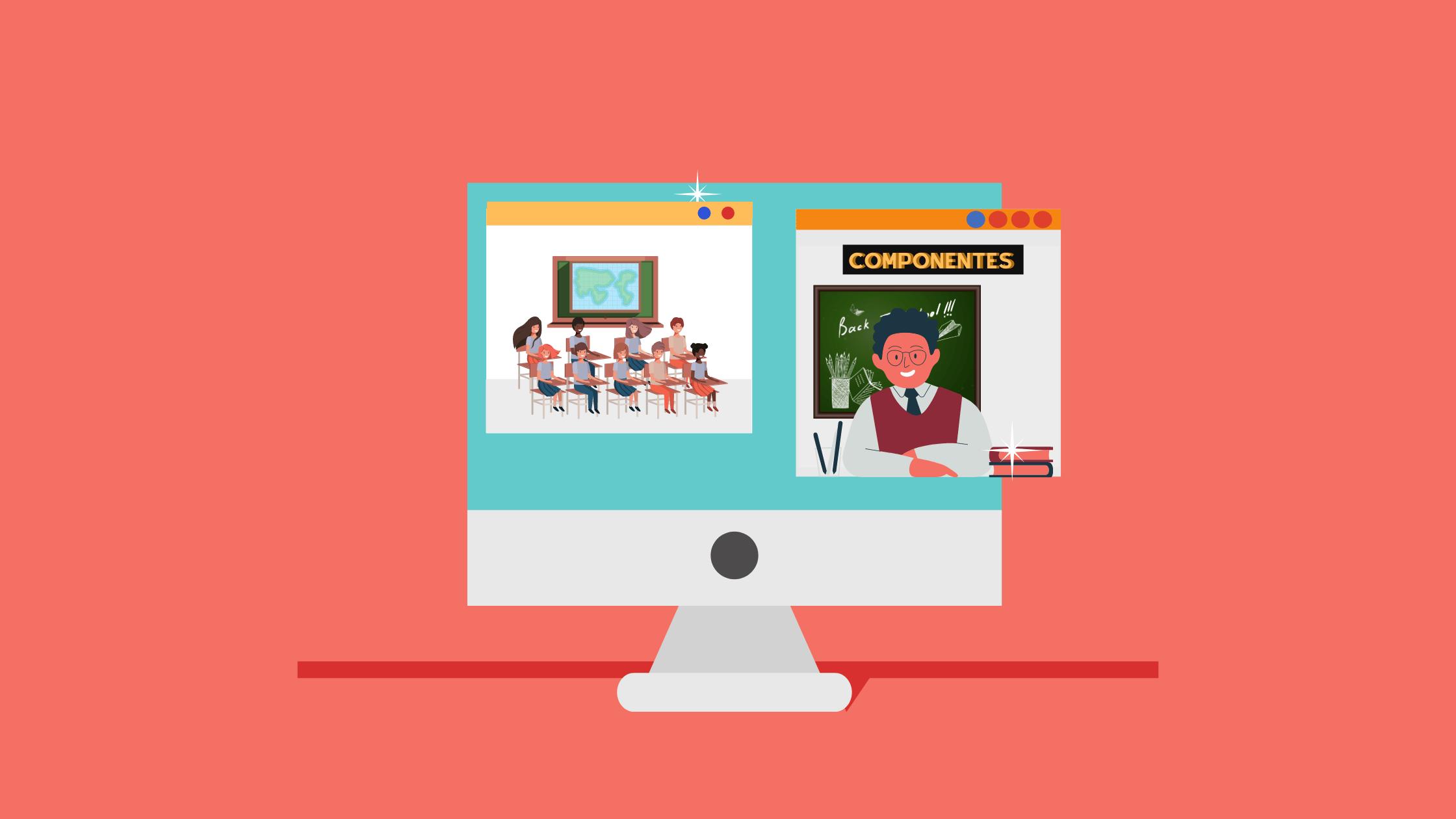 componentes de e-learning
