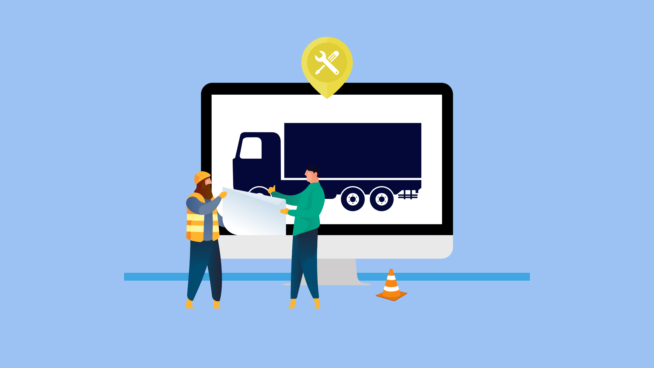 mantenimiento de camiones