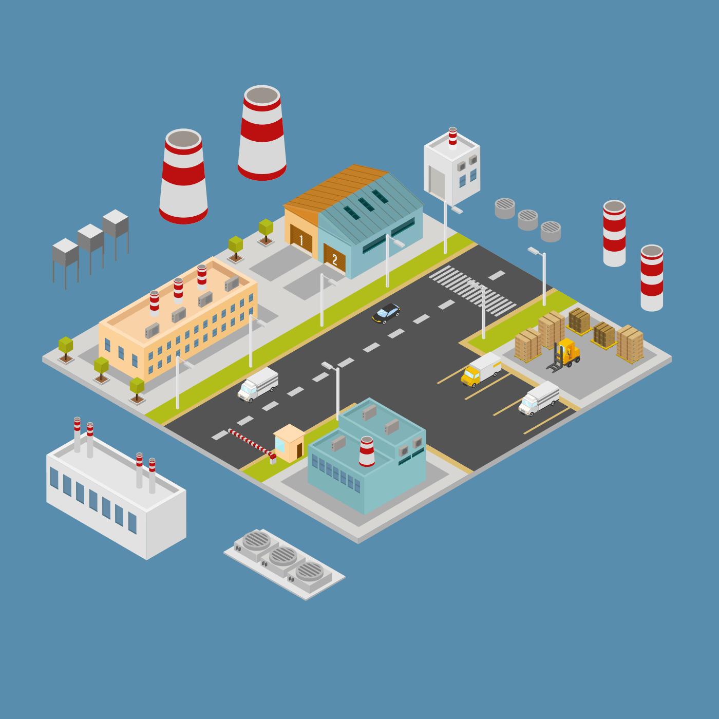 tipos de almacenes de mantenimiento: centralizados, descentralizados y departamentales
