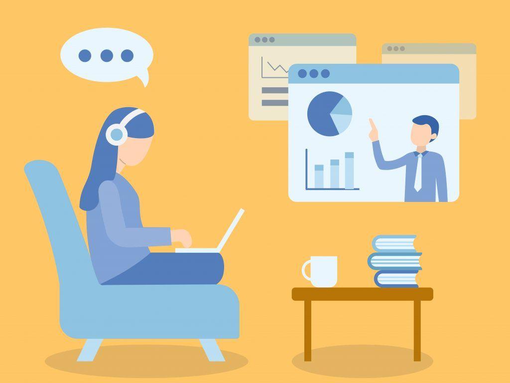 aprendizaje interactivo en línea