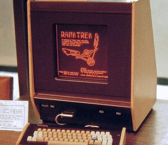 Programa PLATO, primer antecedente de comunidad virtual educativa.
