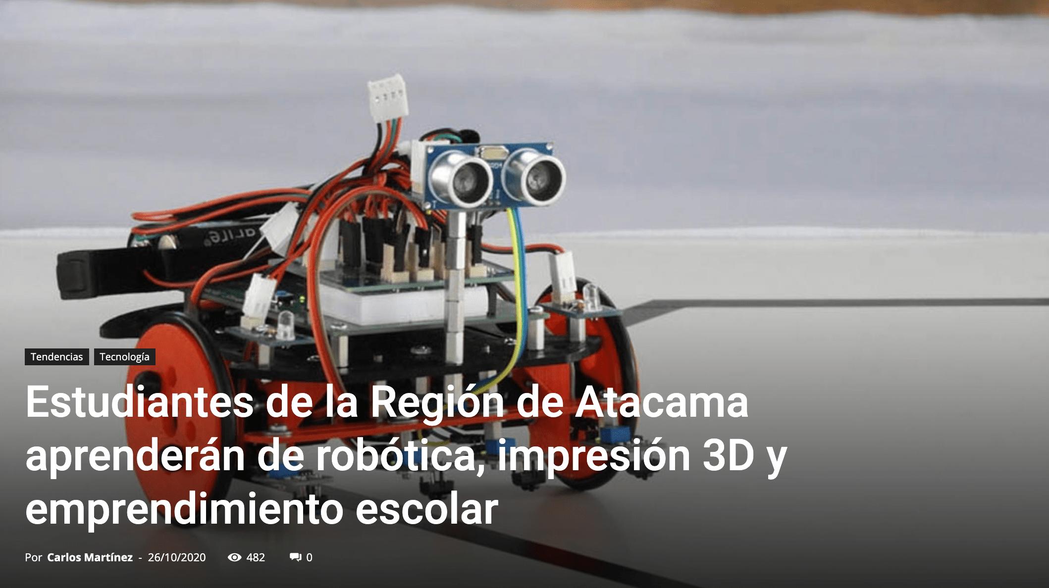 E-learning y clases de robótica en Chile