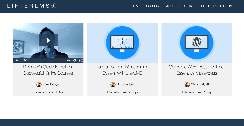 LifterLMS es un plugin para crear  plataformas educativas.