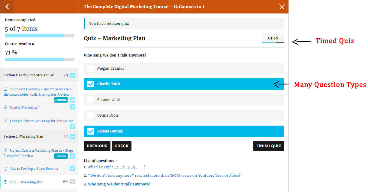 LearnPress es un plugin para crear LMS en WordPress.
