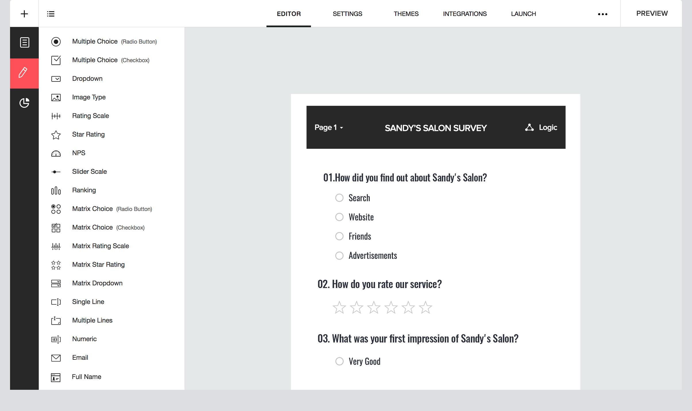 Zoho Survey para encuestas online