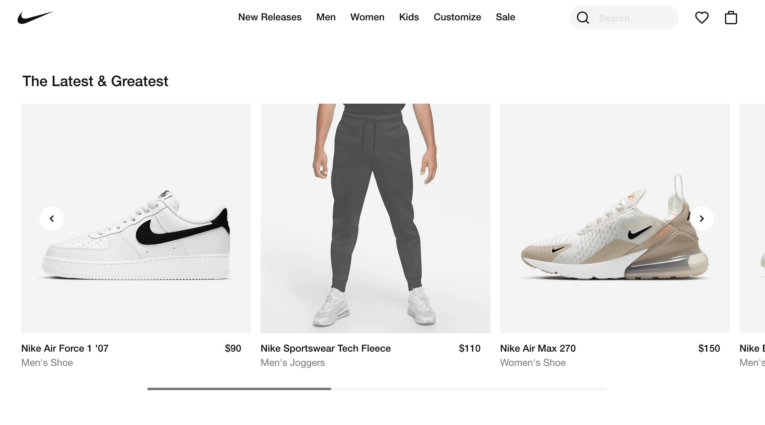 Análisis de Nike para entender los momentos de verdad en el servicio al cliente.